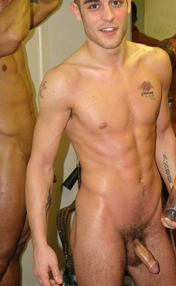 Men caught in the nude