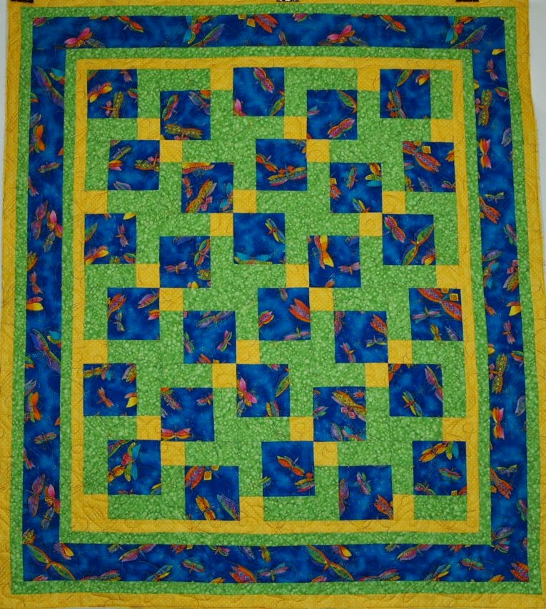 Nancy Nusbaum Dragon Fly Quilt