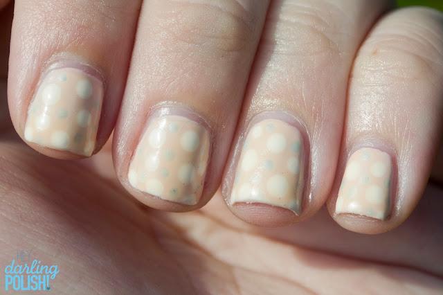 Nails, Nail Art, Nail Polish, Polka Dots, Dots, Hey Darling Polish