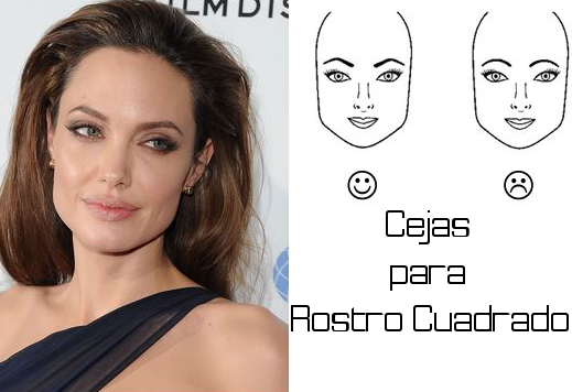 Cejas seg n la forma de tu rostro moda lista for Cejas para cara cuadrada