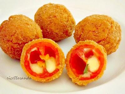 Pomodorini fritti ricetta fingerfood