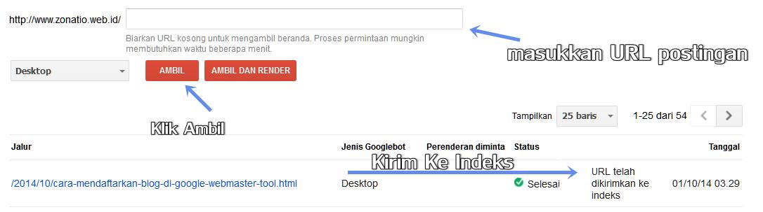 Google Webmaster Tools dan Googleboot