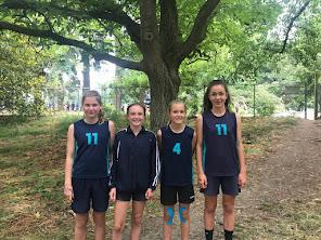 11 Girls' Relay Team at Canterbury Athletics Championships