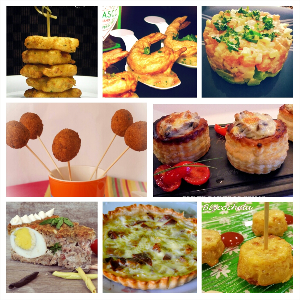 Aperitivos de fiesta for Platos para aperitivos