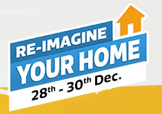 (Last Day) Flipkart : Re-imagine Your Home And Win Gift Cards: BuyToEarn