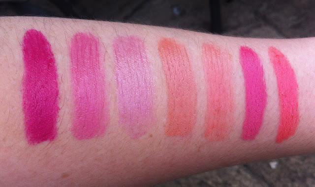 Summer Lipsticks | Review & Swatches