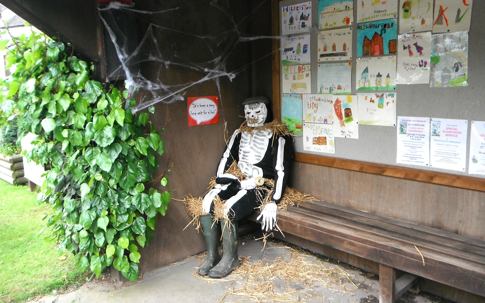 Scarecrow Festival at Hilderstone