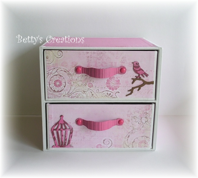 bettys creations schubladenbox f r stanzformen. Black Bedroom Furniture Sets. Home Design Ideas