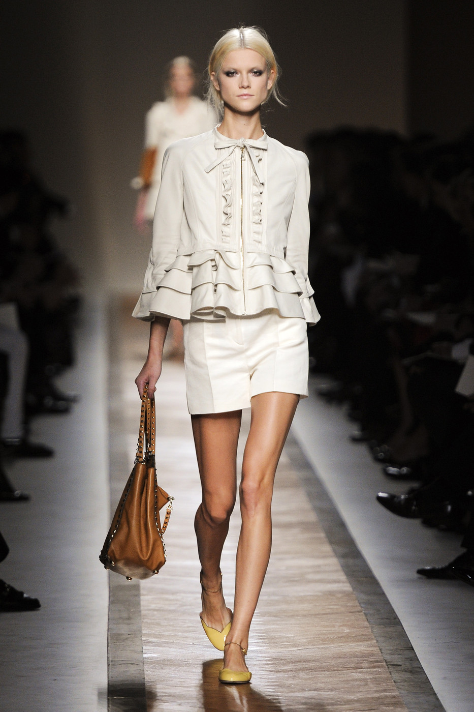 via fashioned by love | Valentino Spring/Summer 2011 White