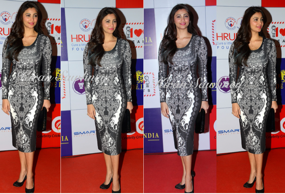 Daisy Shah at 100 hearts charity event in Pankaj and Nidhi