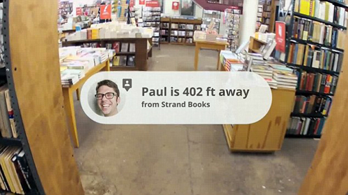 Google Project Glass: Locate Friends and Meetings