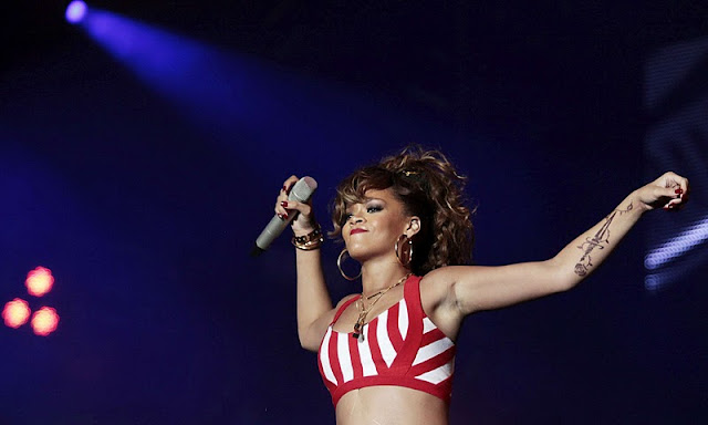 Rihanna Performs at the Rock in Rio Music Festival