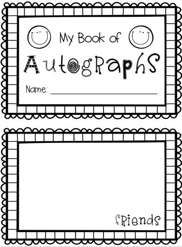 http://www.teacherspayteachers.com/Product/End-of-Year-Autograph-Book-1239647