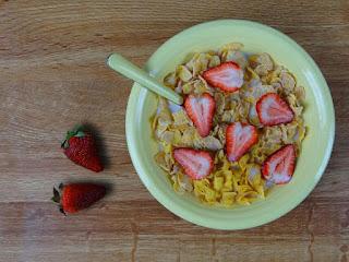 desayuno saludable fruta