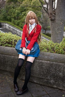 Kanda Midori Cosplay as Aisaka Taiga from Toradora!