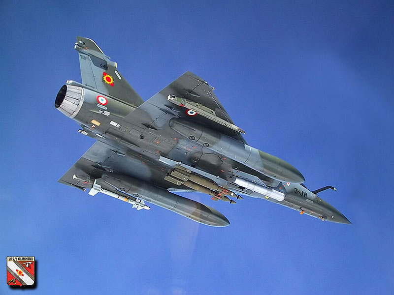 Mirage 2000 French Air Force Fighter
