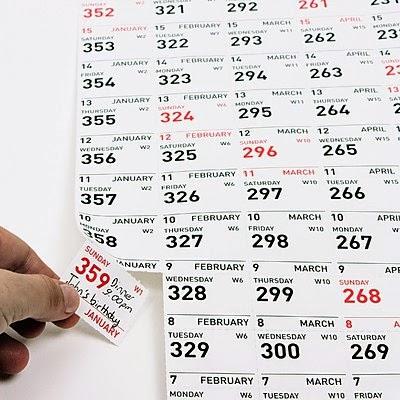 Calendario 2015 Carpe Diem