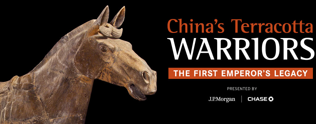 I'm displaying them all so we will have about 350 Terracotta Warriors displayed with all is said and done.