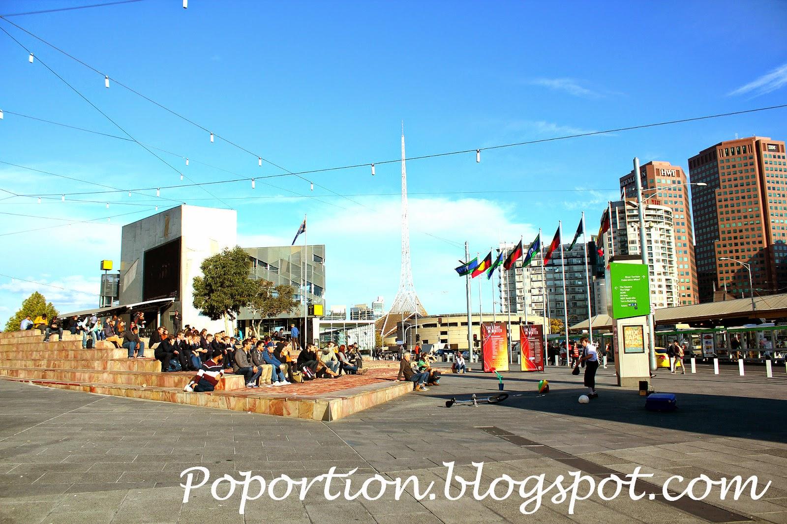 performance parade square
