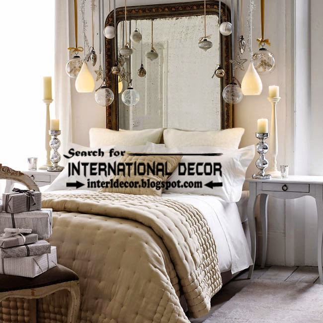 Christmas decorations for bedroom 2015 in new year, Christmas bedroom decor