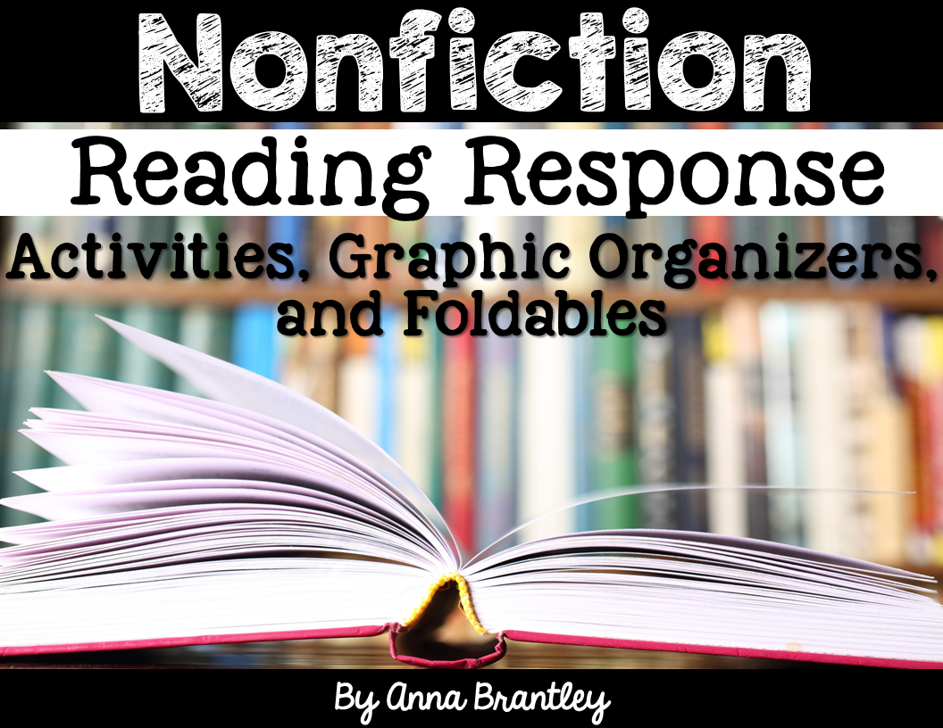 Nonfiction Reading Response Activities