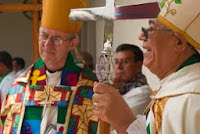 Archbishop Justin with Archbishop Armando Guerra Soria