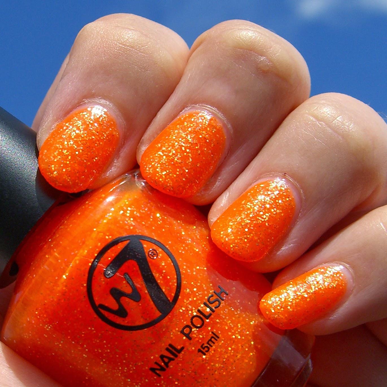 Polish, Plants & More....: W7 - Orange Dazzle