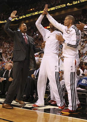 Juwan Howard Heat Bench, Juwan Howard Heat Finals