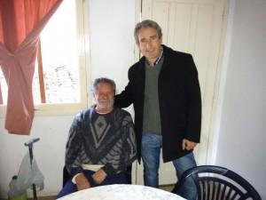 """Pedro Elizalde visitó el Hogar de Adultos Mayores """"La Esperanza""""."""