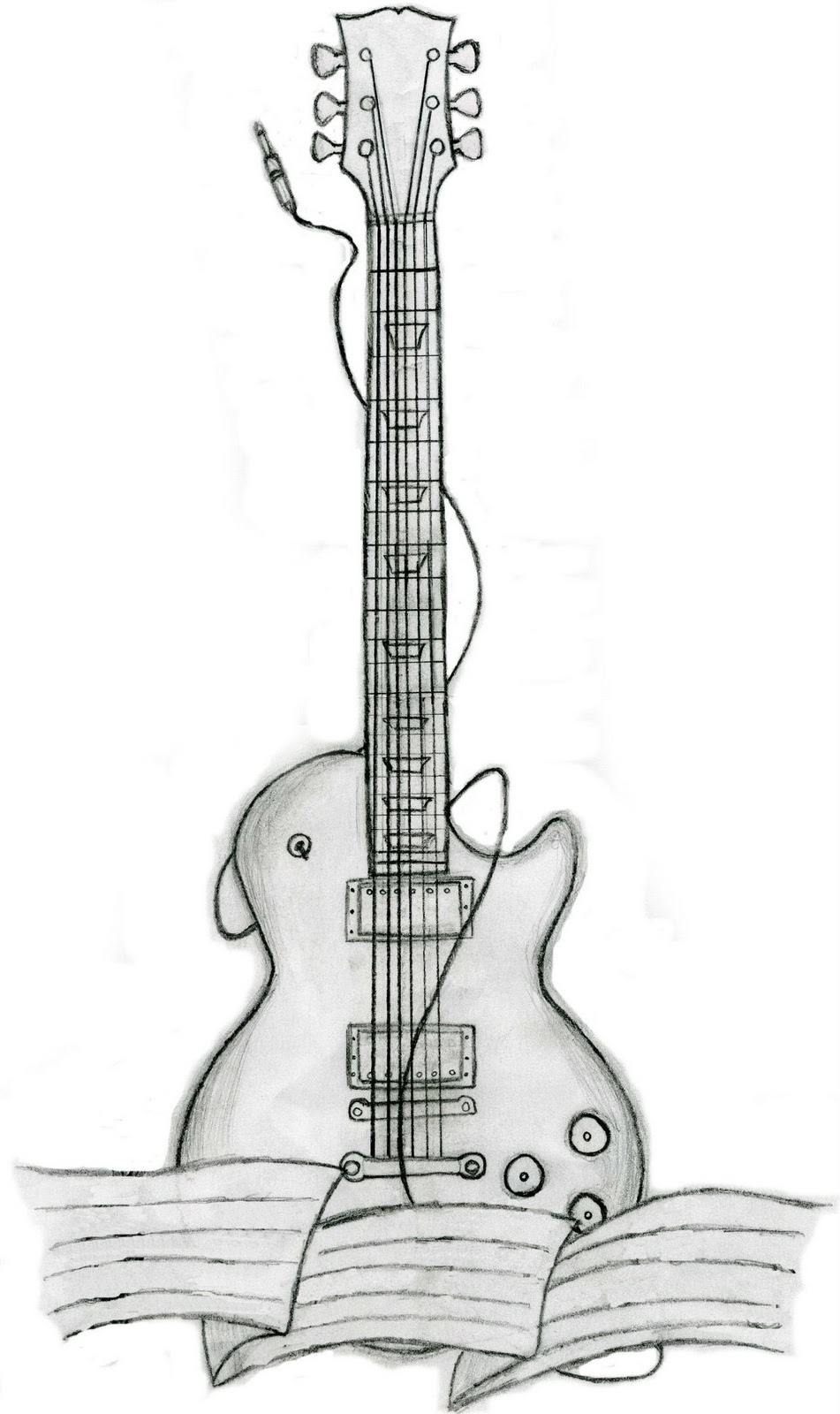 Bass Guitar Drawing  Google Zoeken  Music    Guitar