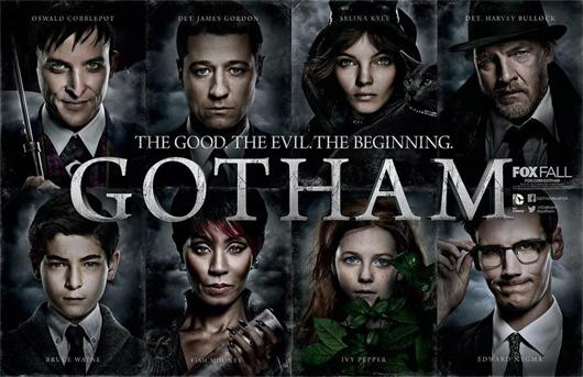 Imagen promocional de la serie Gotham