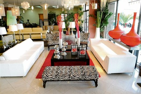 Sala salon living estilo tendencia animal print zebra for Decoracion cebra