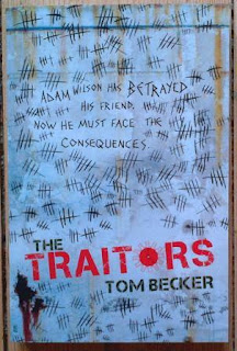 Cover for The Traitors by Tom Becker