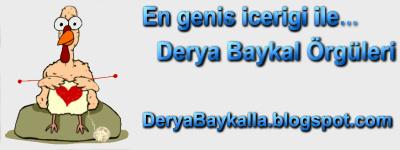 Derya Baykal Örgü Modelleri, dantel oya örnekleri