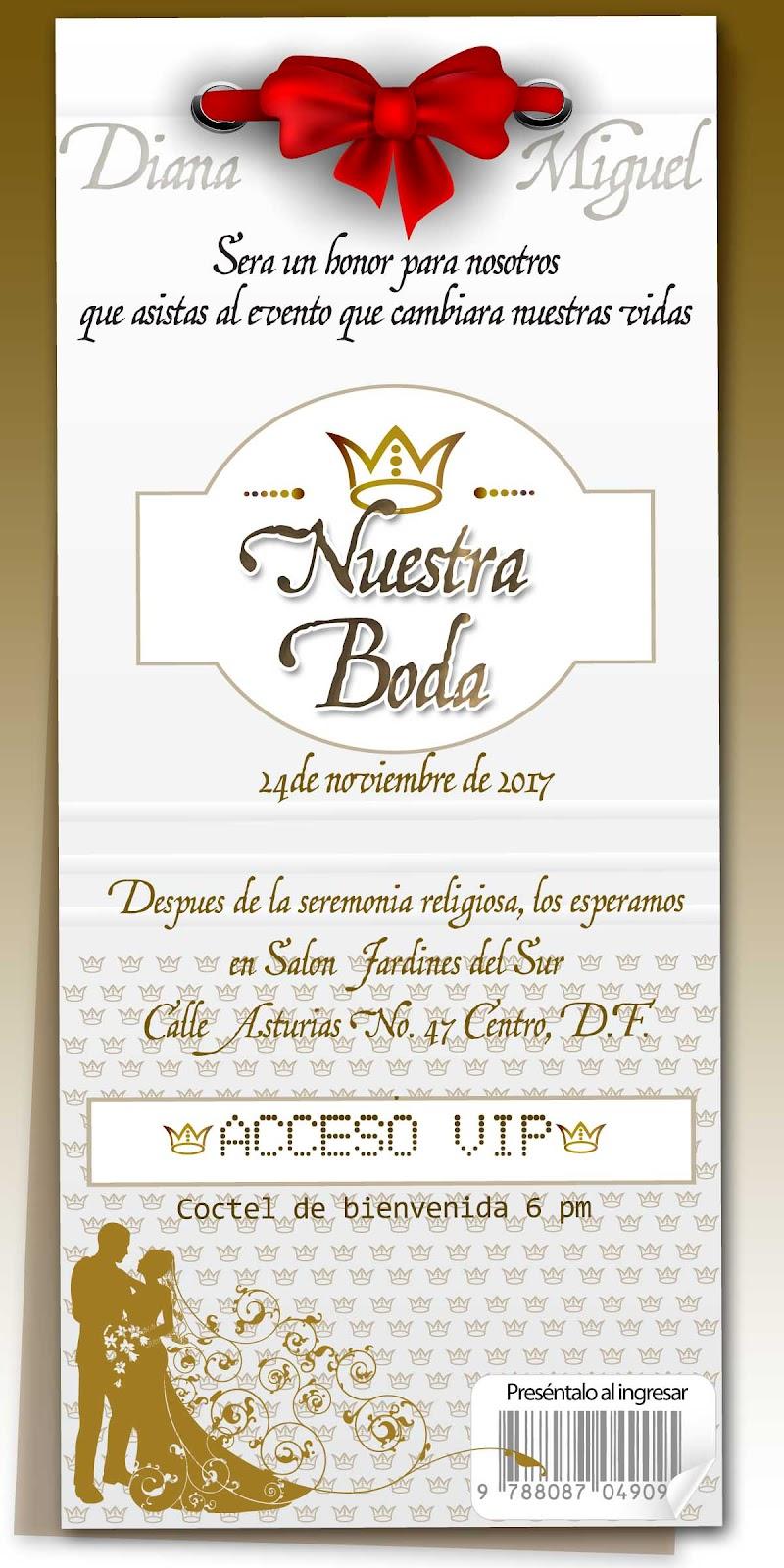 Invitaciones Para 25 Aniversario De Bodas