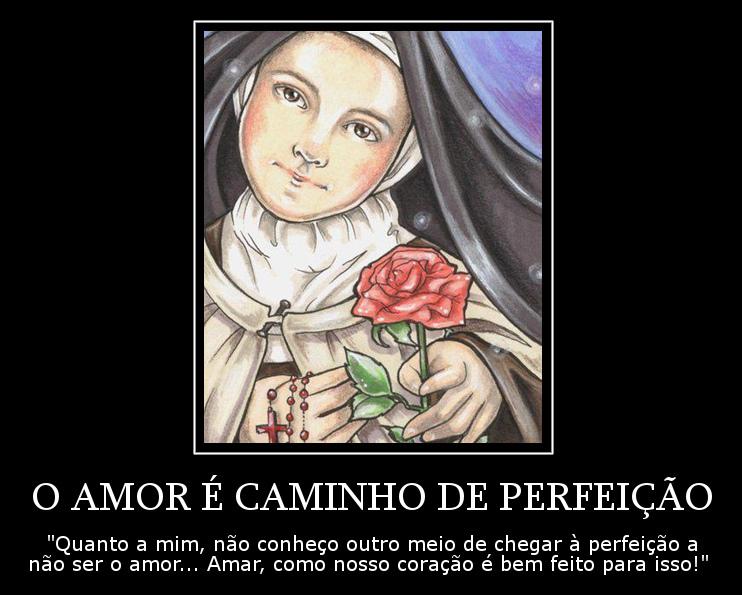 O Amor é O Caminho Da Perfeição Frases Dos Santos