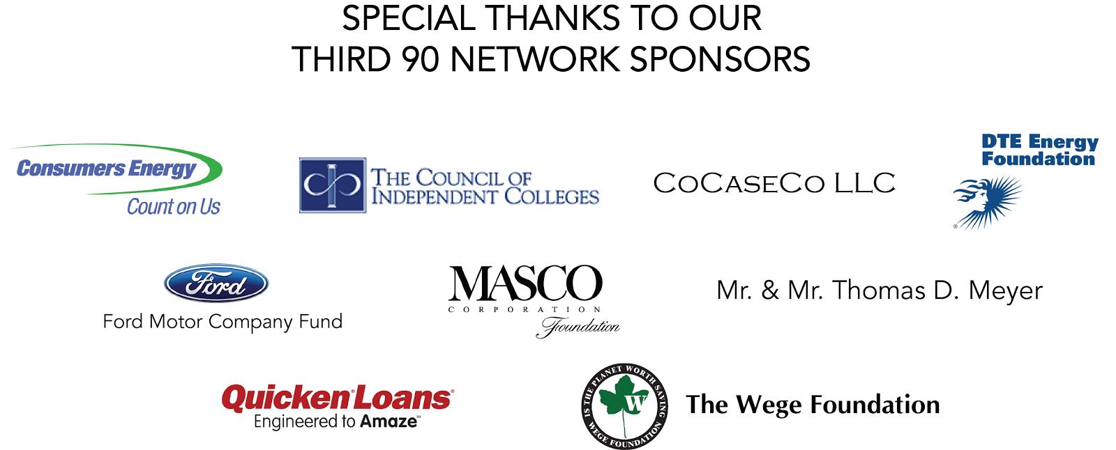 Third 90 Sponsors