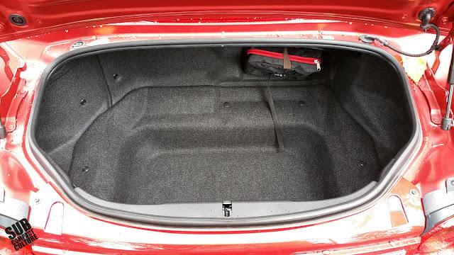 2016 Mazda MX-5 Miata Trunk