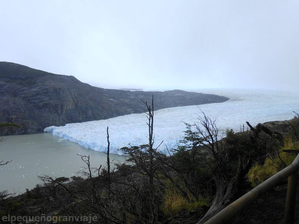 Mirador Glaciar Grey, Torres del Paine