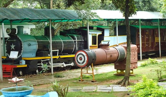 Railway Museum in Mysore