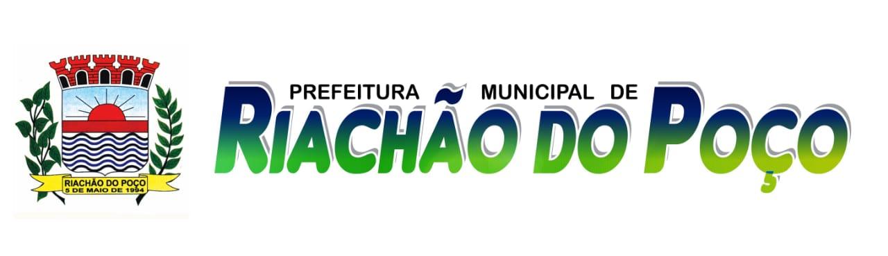 PREFEITURA DE RIACHÃO DO POÇO/PB
