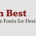 أفضل مواقع الخطوط - Best font Sites