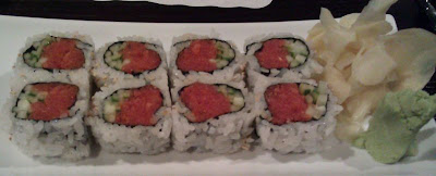Fish Attack Sushi House - Clairemont - Spicy Tuna Roll