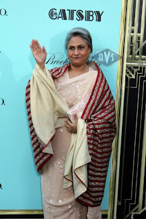 Amitabh & Jaya Bachchan at The Great Gatsby premiere in New York