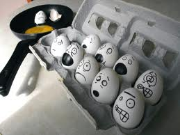 Fondo de Pantalla Divertido,Huevos Traumados