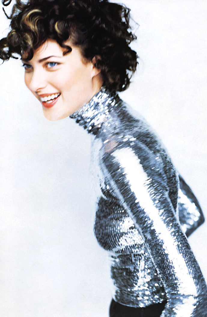 Shalom Harlow in Harper's Bazaar September 1995 (photography: Mario Testino)