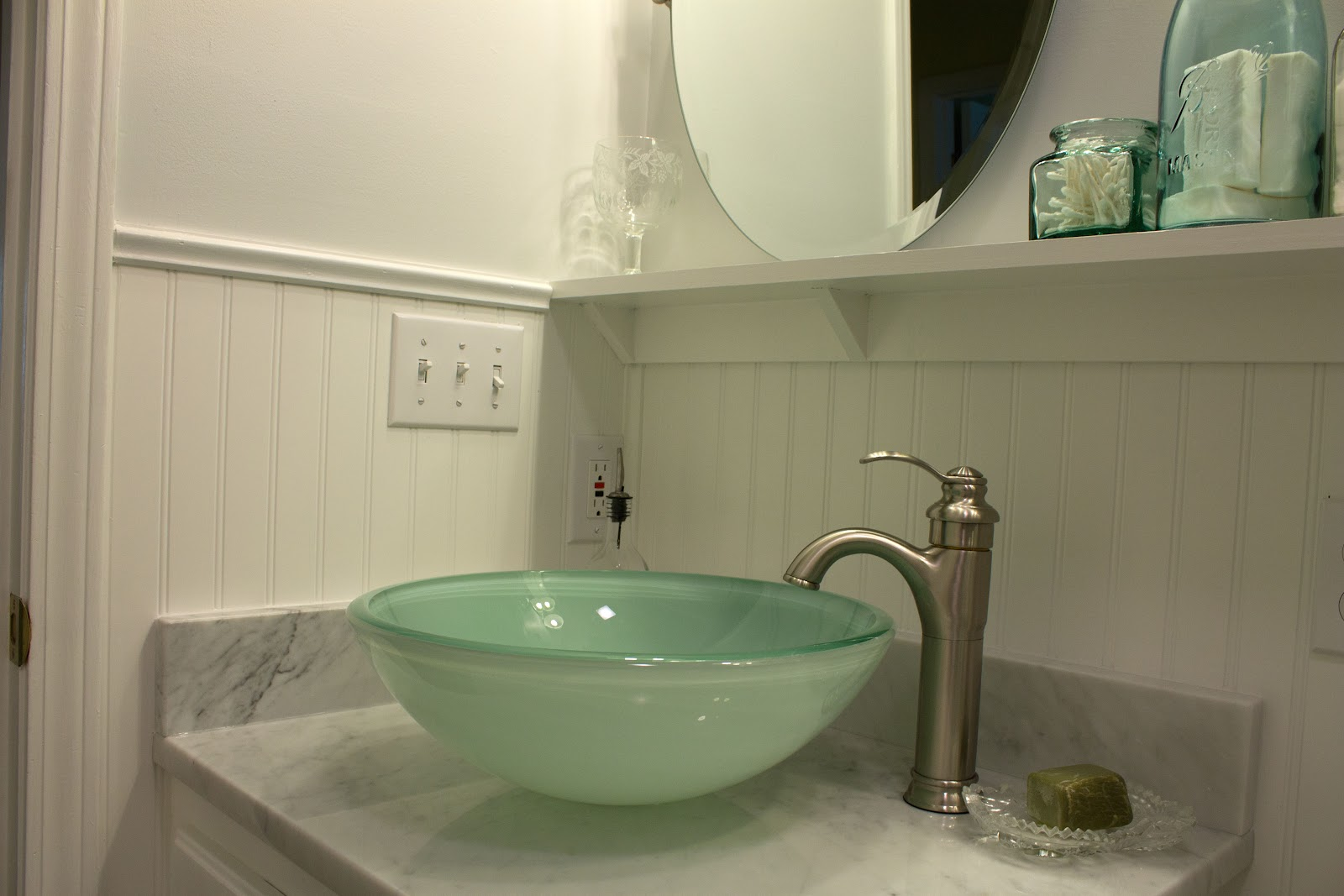 A Meek Perspective Before Amp After The Master Bathroom