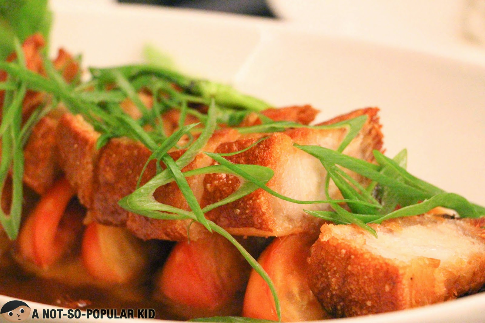 The must-try Bagnet Binagoongang of Cafe Astoria