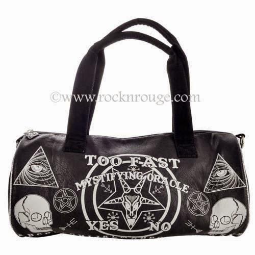 TooFast Ouija Duffle bag