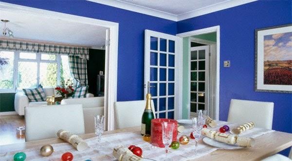 warna yang cocok untuk ruang makan adalah warna